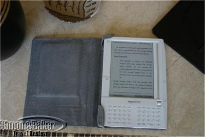 The Kindle open