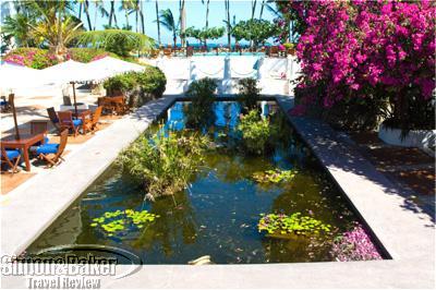 The Sokoni Pond at the Serena Mombasa Beach Hotel