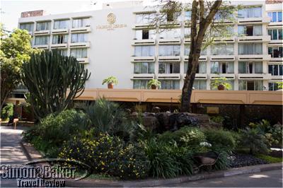 Nairobi Serena Hotel facade