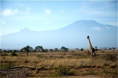 A view of Kilimanjaro from Porini Amboseli