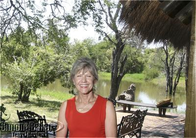 Lente Roode, one of the owners of Camp Jabulani