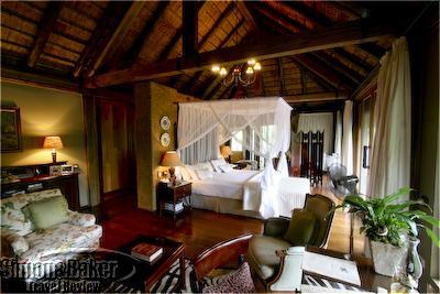 Our luxury suite at Camp Jabulani