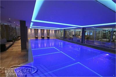 The Romantik Hotel Sackmann Spa pool