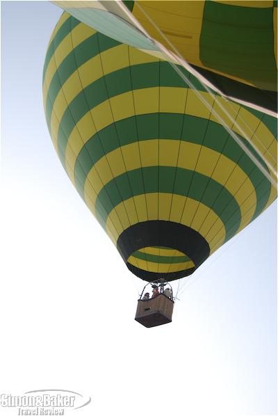 A hot air balloon near Sedona