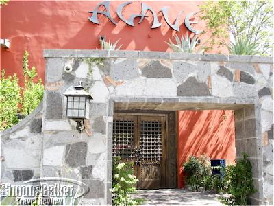 The entrance to Agave