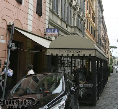 Vincenzo's Restaurant, Rome