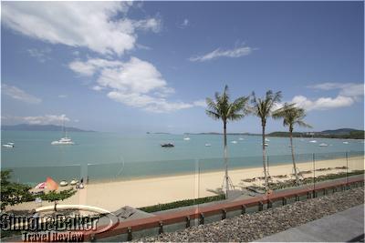Beach View from the Hansar Sumai