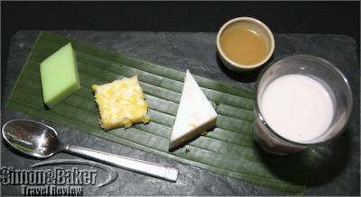 Dessert was an interpretation of a Khmer classic