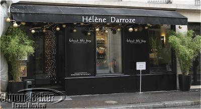 The entrance to Helene Darroze