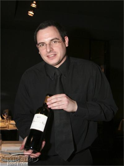 Our server Francois
