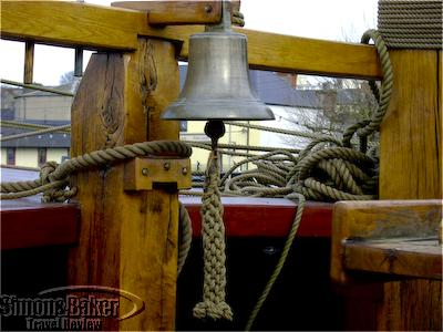 Original Bell from the Dunbrody Ship