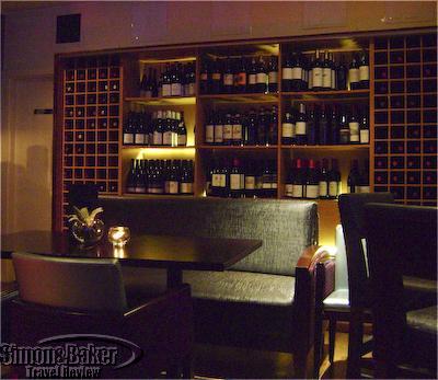 Downstairs bar at L'Escrivain