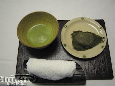 Excellent green tea