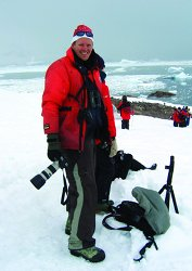 James Lowen, author, Antarctic Wildlife