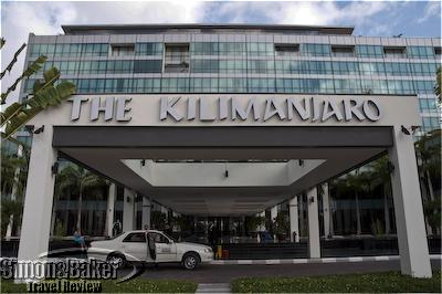 The facade of the Kempinski Kili