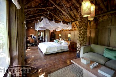 My bedroom at Lake Manyara