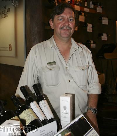 Francois Rautenbach, Singita's wine manager