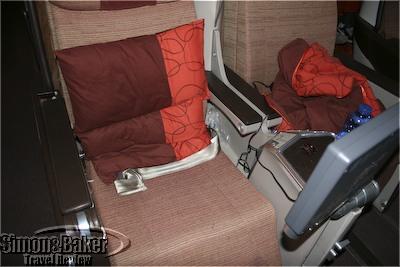 The seats in Iberia Business Plus