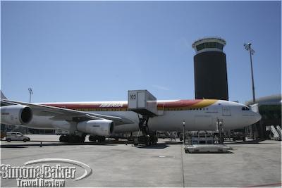Iberia Air at the gate