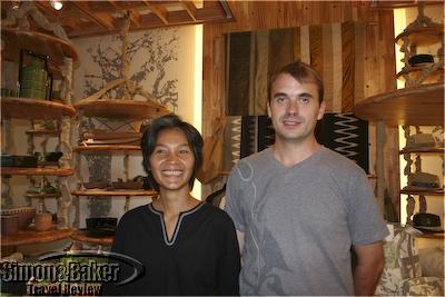 Sirivan Chak and Loic Dumas