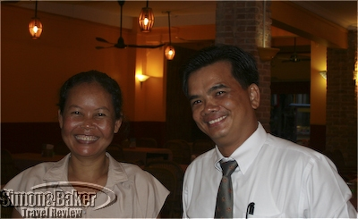 The owners of Khmer Kitchen