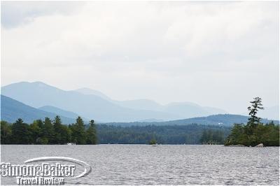 Squam Lake panorama
