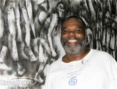Artist Earl Darius Etienne