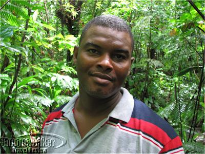 Kurnel Simon, a native guide and driver