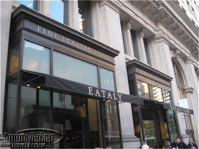 The entrance to Eataly from 23 street
