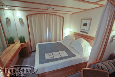 Our cabin on the SeaDream I