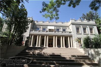 The Villa Suites building