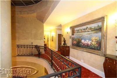 The Villa featured beautiful common areas