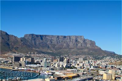 Cape Town and the famous Table Mountain