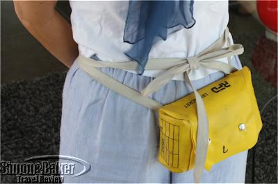 A life jacket for safety