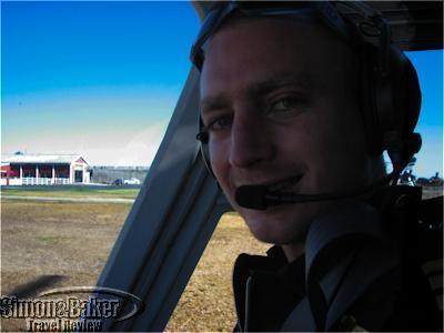 Our pilot Guy Douglas