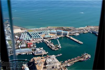 The V&A Waterfront from above