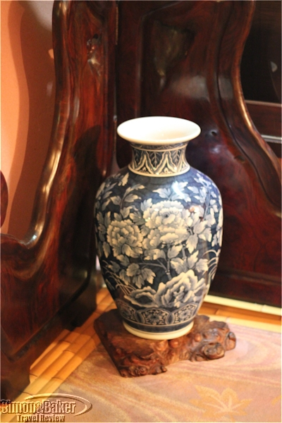 A beautiful vase found on the 3rd floor of the main building