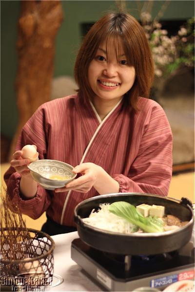 Aya Tochimoto took great care of me