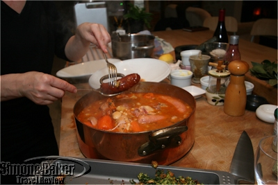 Cassoulet, one of my favorite dishes that week