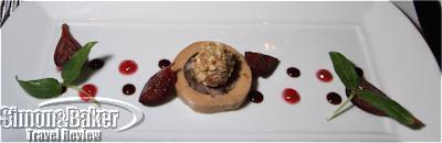 Quail and foie gras