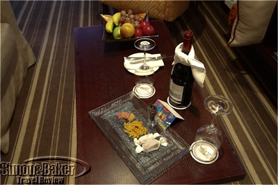 Greeting amenities in the room