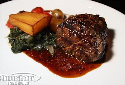 The chalmar steak at Reubens