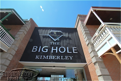 Entrance to the Big Hole exhibit