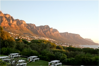 View of the Twelve Apostles and Camps Bay from the Roundhouse picnic area