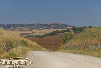 A bike ride through the Tuscan countryside