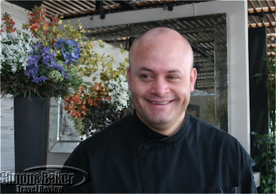 Marco de la O, executive chef, Carolo Group