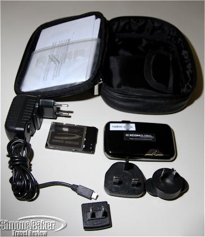 The XCom Global MiFi aXcess Mobile Hotspot kit
