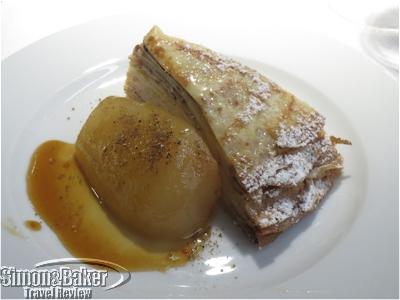 The thousand layer crepe dessert