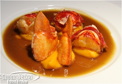 Brittany Lobster main course