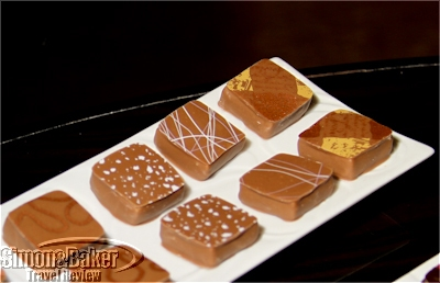 Milk chocolate versions of the flavors